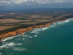 The Twelve Apostles top view