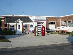 Pocomoke city info.center / Maryland. USA - 18 juillet 2010