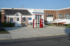 Pocomoke city info.center / Maryland. USA - 18 juillet 2010 - Recadrage.