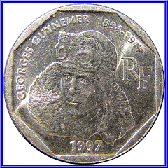 2 Francs Commémorative 1997 Avers