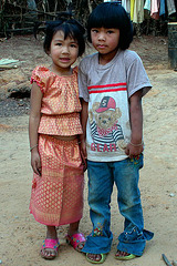 Children in Baan Koog, Na Haew