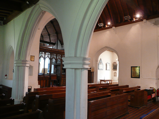 great yeldham interior from n.w.