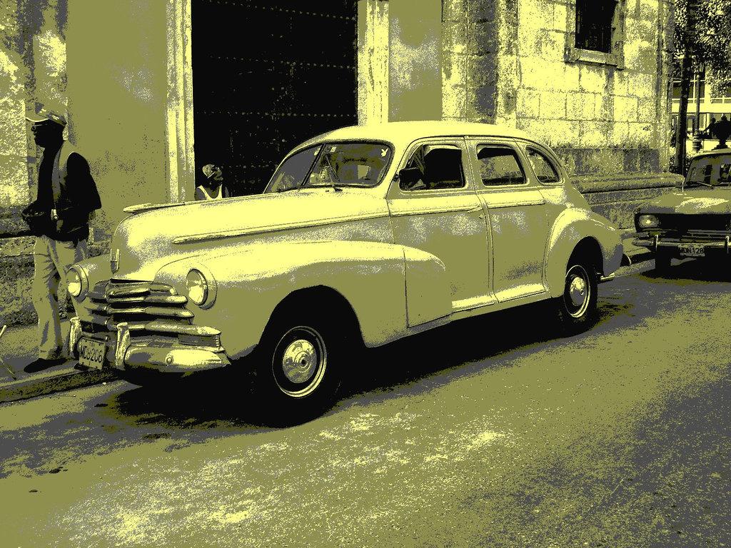 Matanzas, CUBA. 5 février 2010.  Vintage postérisé