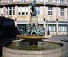 Martinsbrunnen - Kinder fangen Gänse