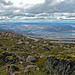 Way up to the Mount Wellington summit