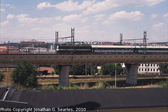 Train on the New Linka 011, Picture 2, Prague, CZ, 2010