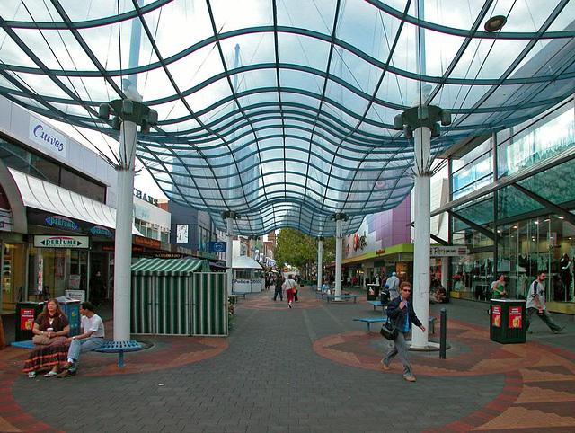 Shopping arcade Elisabeth Mall