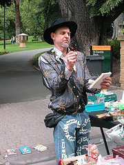 Entertainer at the Salamanca Market