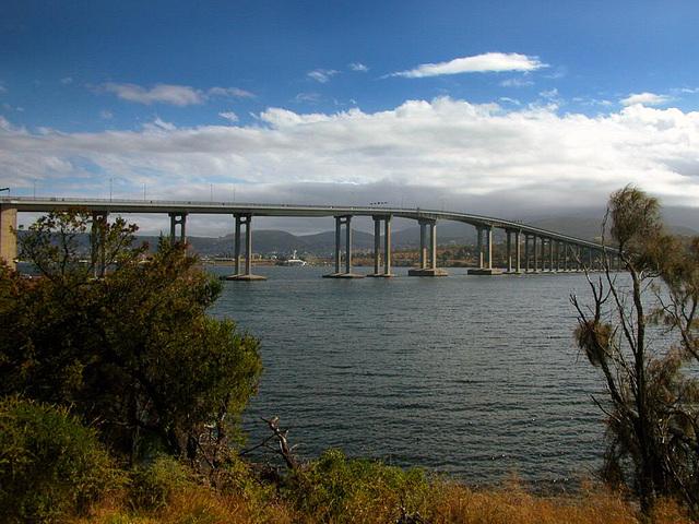Tasman bridge in Hobart