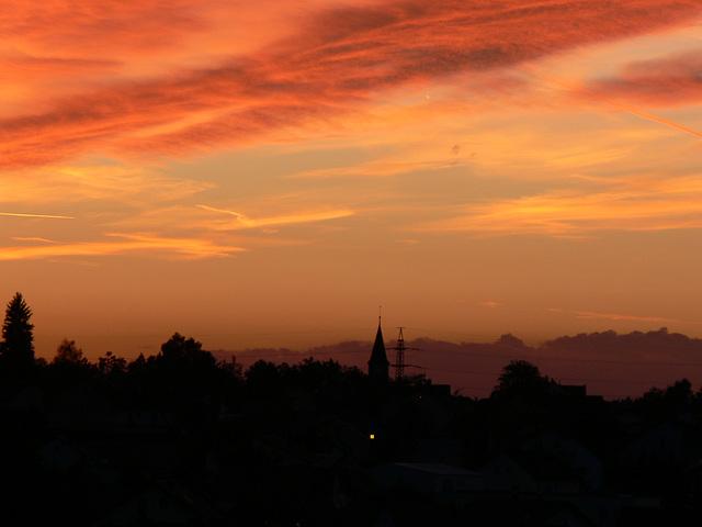 Sunset in der Oberpfalz