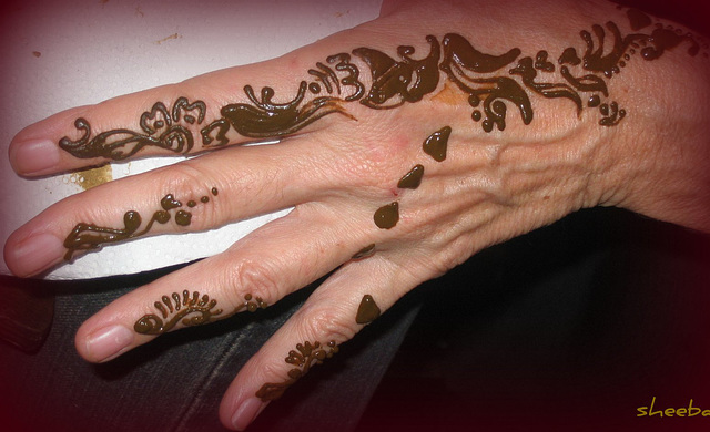 Henna... free form