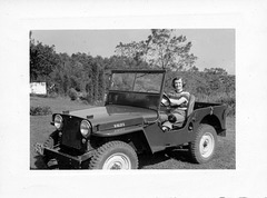 1948 Jeep Girl