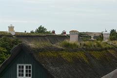 Über den Dächern von Sønderho