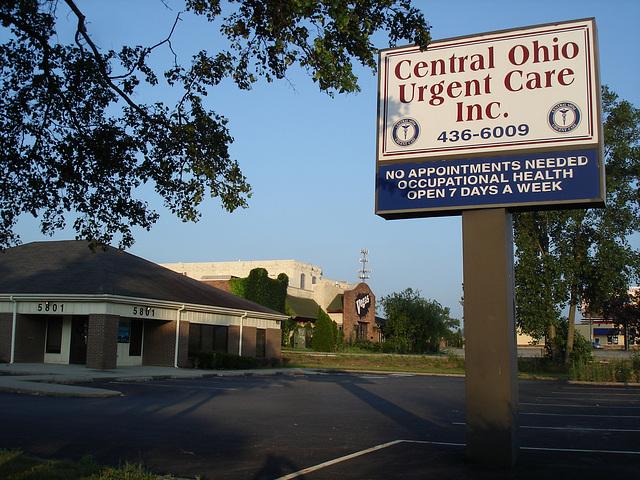 Central Ohio urgent care inc. /  Columbus, Ohio. USA - 25 juin 2010