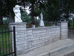 Capt A.J. Hamilton memorial cemetery / Alabama. USA - 10 juillet 2010.