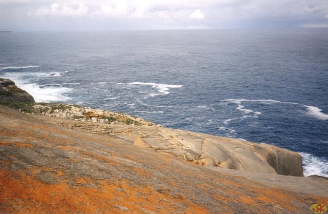 1997-07-23 076 Aŭstralio, Kangaroo Island, Remarkable Rocks