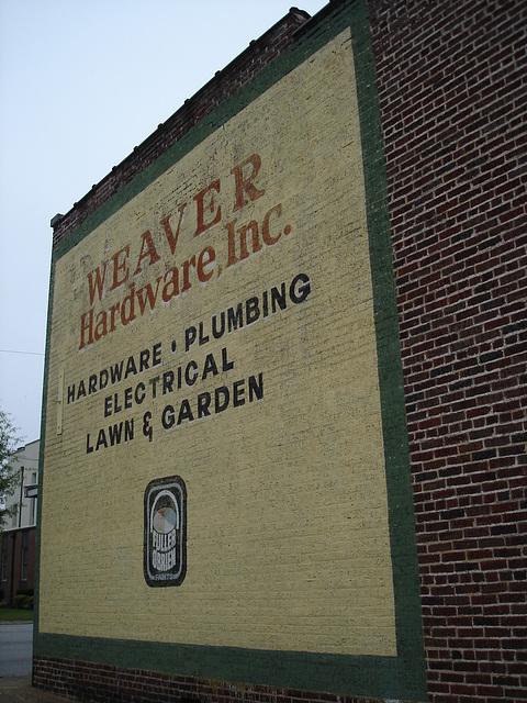 Weaver hardware, inc / Hamilton, Alabama. USA - 10 juillet 2010