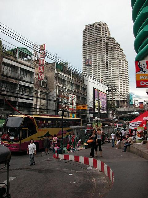 Charoen Krung Road in Bangkok