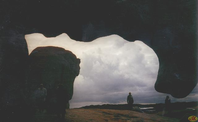 1997-07-23 080 Aŭstralio, Kangaroo Island, Remarkable Rocks