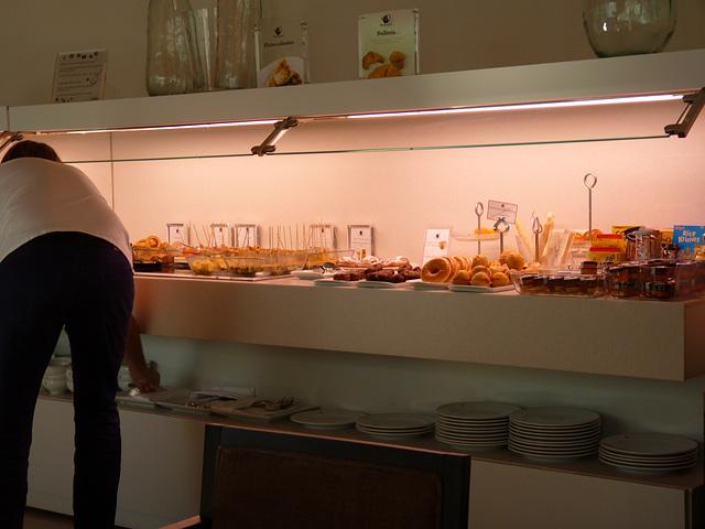 Restaurante del Parador de Álcala de Henares
