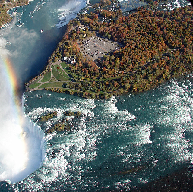 canada  Les chutes du Niagara