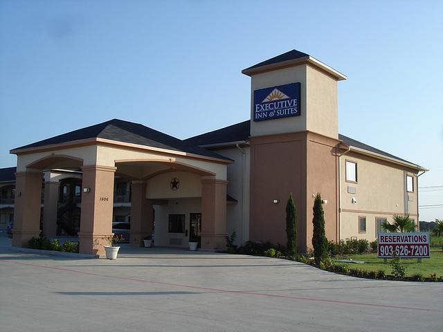 Executive Inn & Suites / Jewett, Texas. USA - 6 juillet 2010