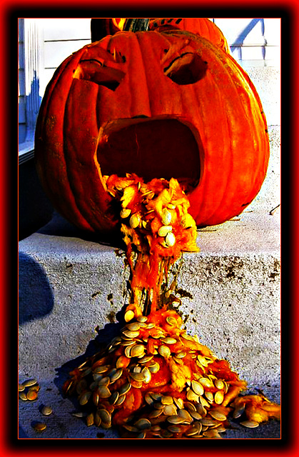 Puking Pumpkin (Halloween Goodies XII)