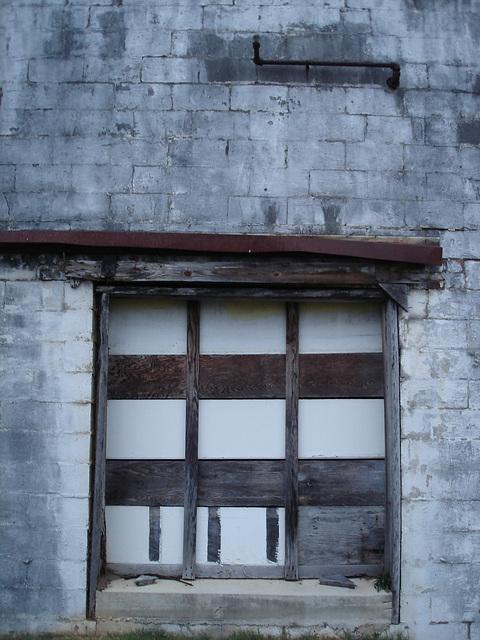 Ruine urbaine / Urban ruin - Hamilton, Alabama. USA - 10 juillet 2010