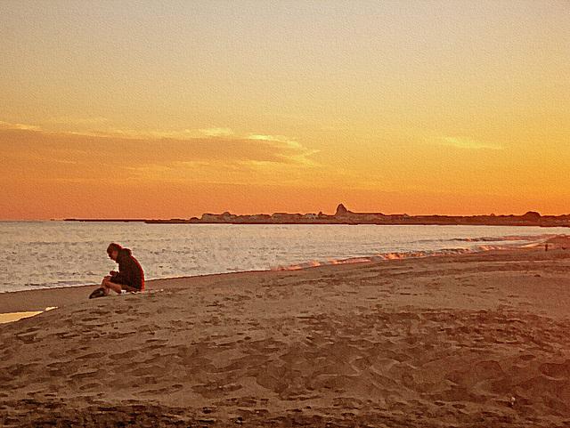 ecrire ... plage est ...