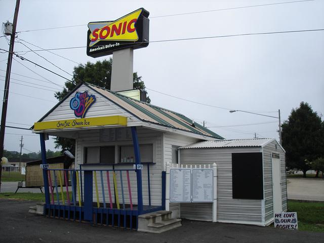 Snobiz shave ice /  Hamilton, Alabama. USA - 10 juillet 2010