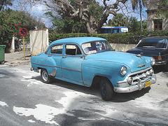 Taxi MDV 682 / Varadero, CUBA. 7 février 2010.