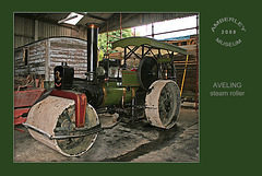 Aveling Steam-roller - Amberley Museum - 11.8.2008