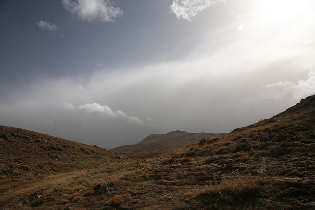 Storm in the mountains - Turkey 2010