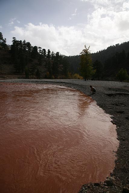 Red floodwater - Turkey 2010