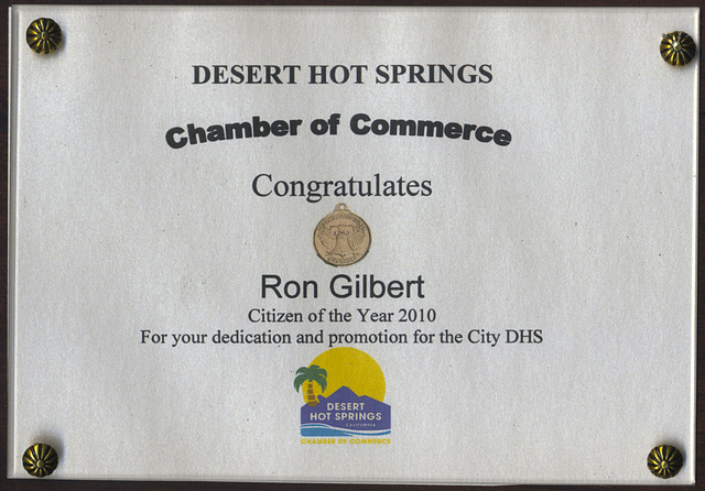 DHS Chamber Of Commerce Citizen Of The Year