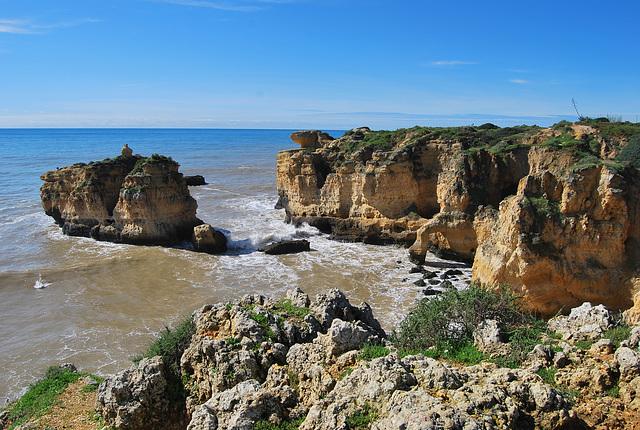 Praia Soao Rafael. Algarve.