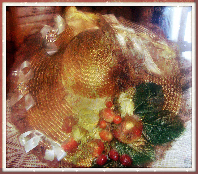 chapeau de décoration