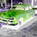 FORD / Matanzas, CUBA. 5 février 2010. - Postérisation en négatif RVB