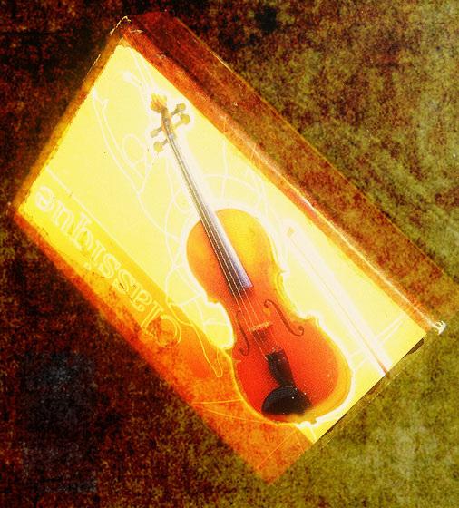 violon miniature