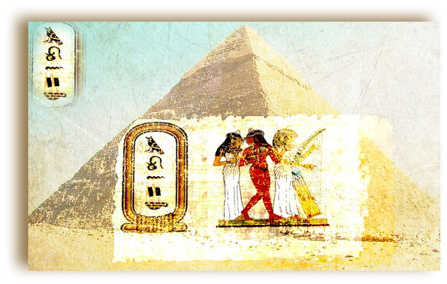 monique en Egypte