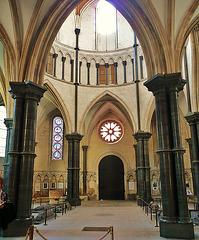 temple church nave 1160-85