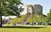 York castle (Clifford's tower).