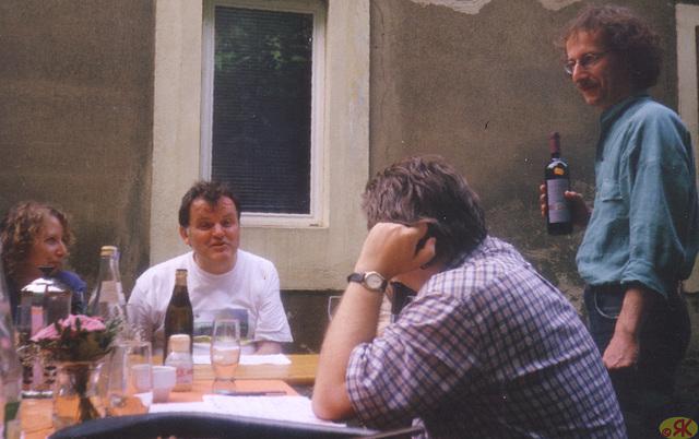 1999-06 1 Eo, Hofparty