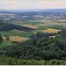 Blick ins Wesertal in Richtung Hameln