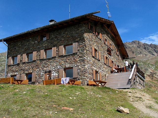 Oberetteshütte auf 2670 m
