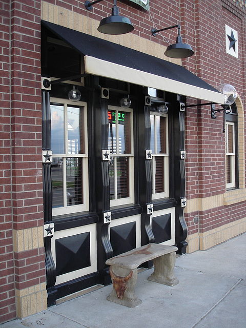 Black eyed pea restaurant / Hillsboro, Texas. USA - 28 juin 2010