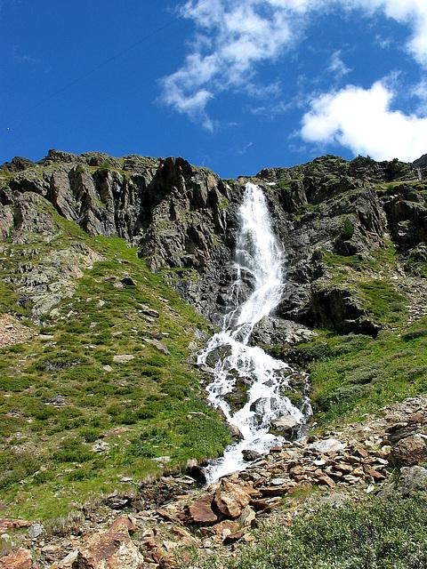 Wasserfall im Matschertal