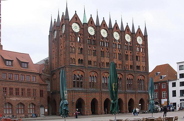 20100920 8256ASaw Stralsund, Rathaus