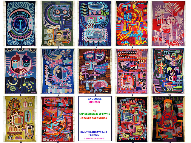 Genesis Tapestries a Tribute to the Creator JF Favre
