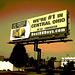 BestRVBbuys.com billboard / Panneau-réclame - Columbus, Ohio. USA - 25 juin 2010- Sepia postérisé